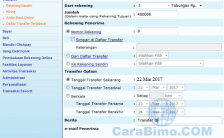 Cara Transfer Uang Lewat Internet Banking Mandiri