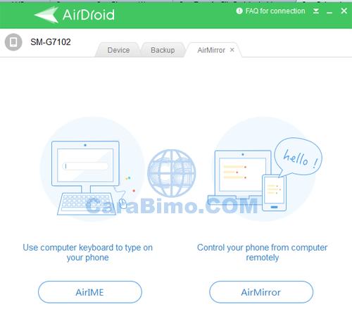 Kendalikan Android dari PC