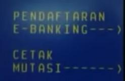 Pendaftaran E-Banking