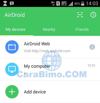Cara Remote Atau Kontrol HP Android Dari PC