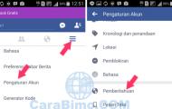 Cara Stop Menerima SMS Pemberitahuan Facebook Lewat HP Android