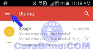 membuka 2 akun email Gmail
