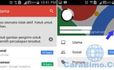 Cara Membuka Email Yahoo Dari Aplikasi Gmail di Android
