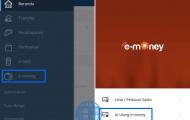 Cara Isi Saldo Indomaret Card Lewat Mandiri Online Dari HP Android