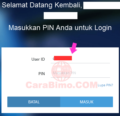 Lupa User ID Internet Banking Bank Mandiri