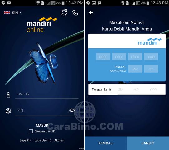 mandiri online vs mandiri mobile