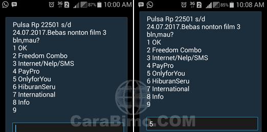 Cara Daftar Paket OnlyForYou 1GB 10Ribu