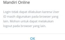 Percobaan Mengatasi Tidak Bisa Login ke Mandiri Online di HP Android