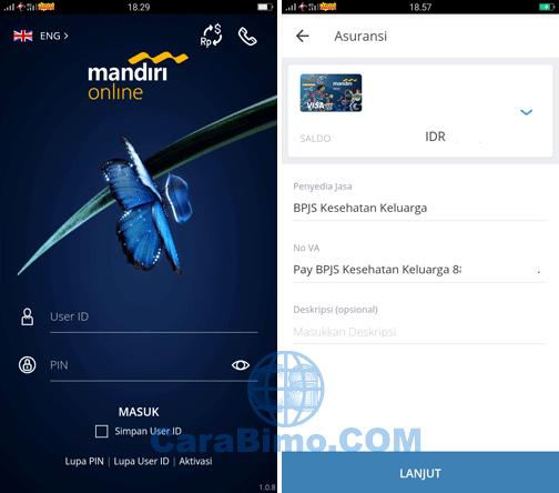 app mandiri online Android