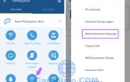 Cara Bayar BPJS Lewat Mandiri Online Dari HP