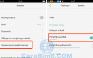 Cara Berbagi Koneksi Internet HP Android OPPO ke Laptop