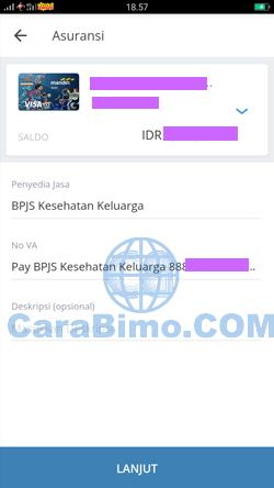 Sukses Bayar BPJS Lewat Mandiri Online Dari HP