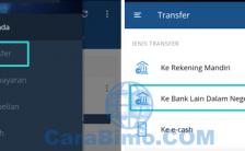 Cara Transfer Antar Bank Lewat Mandiri Online