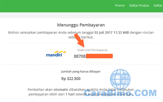 Bayar Tokopedia Pakai Virtual Account Mandiri