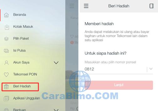 Beli Pulsa Di MyTelkomsel Untuk Nomor Telkomsel Lain