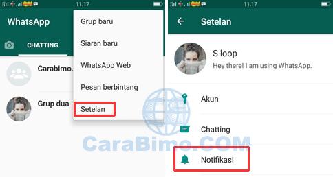 Bagaimana Cara Mengganti Nada Notifikasi WhatsApp Chat dan Grup?