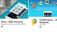 Perbandingan 2Face Multi Accounts VS Parallel Space
