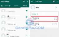 WhatsApp, Cara Mengetahui Berapa KB Penggunaan Data Video Call