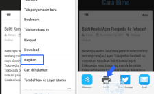 Cara Print Halaman Web Di Google Chrome Android (Terbaru)