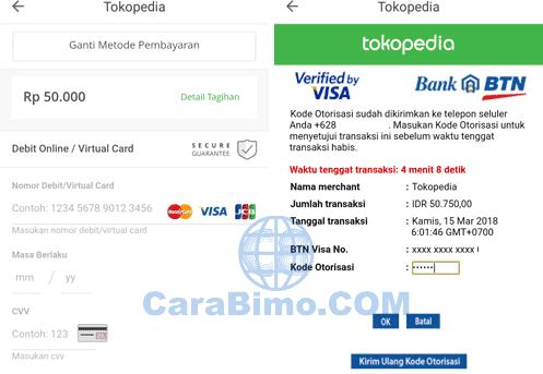 Cara Belanja Online Dengan Kartu Debit BTN