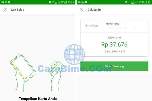 Cek Saldo E-Money Mandiri di HP Android Lewat Tokopedia