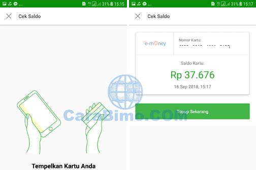 Cara Cek Sisa Saldo E Toll Dari Hp Android