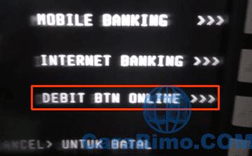 Debit BTN Online