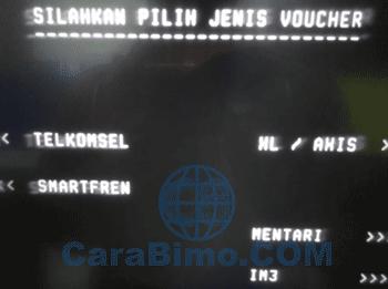 Cara Isi Pulsa Lewat ATM BTN (Telkomsel, Indosat, XL, SmartFren)