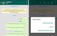 WhatsApp Tambah Waktu Hapus Pesan Untuk Semua Orang?