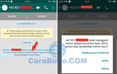 Bagaimana Kontak Tahu Kita Sudah Mengganti No WhatsApp?