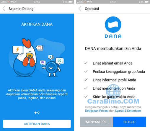Bagaimana Cara Aktifkan BBM Dana Beta di Android?