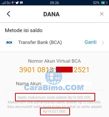 akun BBM dihapus akun DANA tidak ikut terhapus