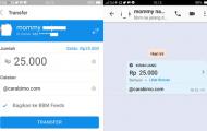 Cara Kirim Uang Lewat DANA BBM Android