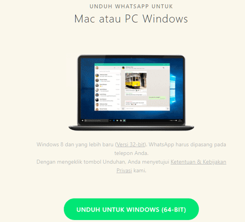 Mudahnya Install WhatsApp di Windows 10