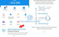 Cara Menjadi User Premium DANA di BBM Android