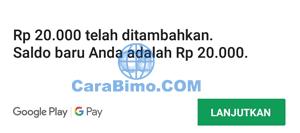 Tambah Saldo Google Play