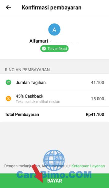 belanja pakai go-pay