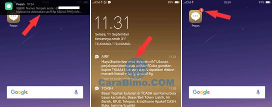 Nada SMS Tidak Bunyi dan Notifikasi Tidak Muncul di HP OPPO