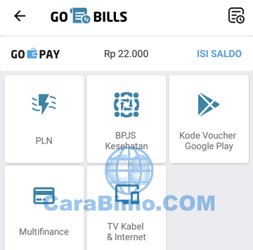 Pilih Kode Voucher Google Play