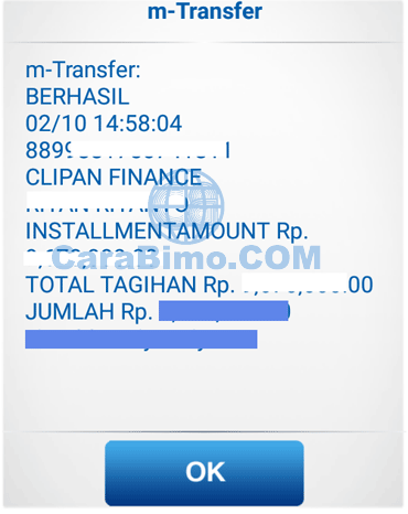 angsuran clipan finance