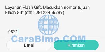 Flash Gift Telkomsel