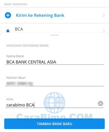 Tambah Bank Baru