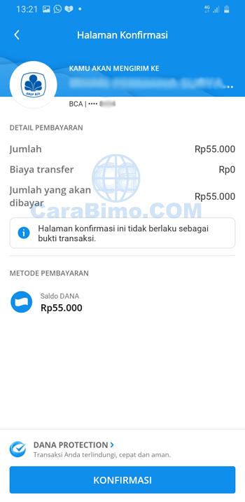 tarik uang di aplikasi DANA