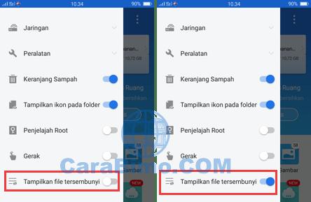 Menyimpan Video Status WhatsApp Dengan Aplikasi File Manager
