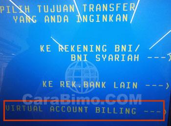 Virtual Account Billing
