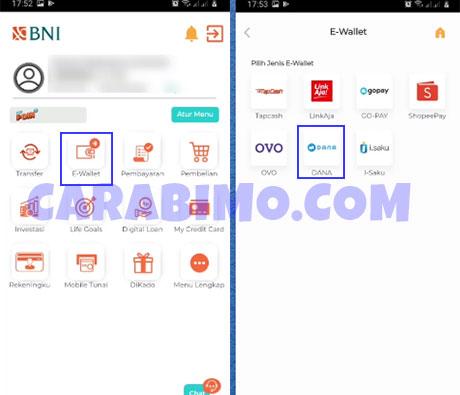 Cara Top Saldo Up DANA Lewat BNI Mobile Banking 2021