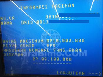 Cara Top Up DANA via ATM BNI