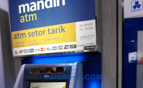 Cara Setor Tunai Di Atm Bank Mandiri Dan Berapa Minimalnya