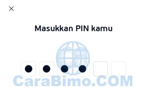 masukan PIN LinkAja