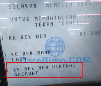 Top Up LinkAja di ATM BCA